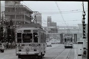 昭和55年(1980年)の路面電車⑤熊本市電: 鉄道趣味っと